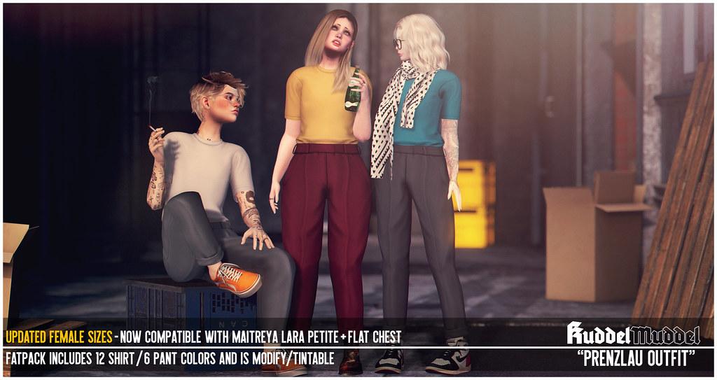 [KuddelMuddel] PRENZLAU Outfit **UPDATED LARA PETITE+FLAT CHEST SIZES** @IBTC, Oct 9-23