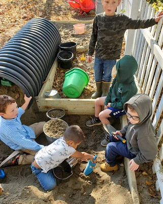 boys in the sandbox