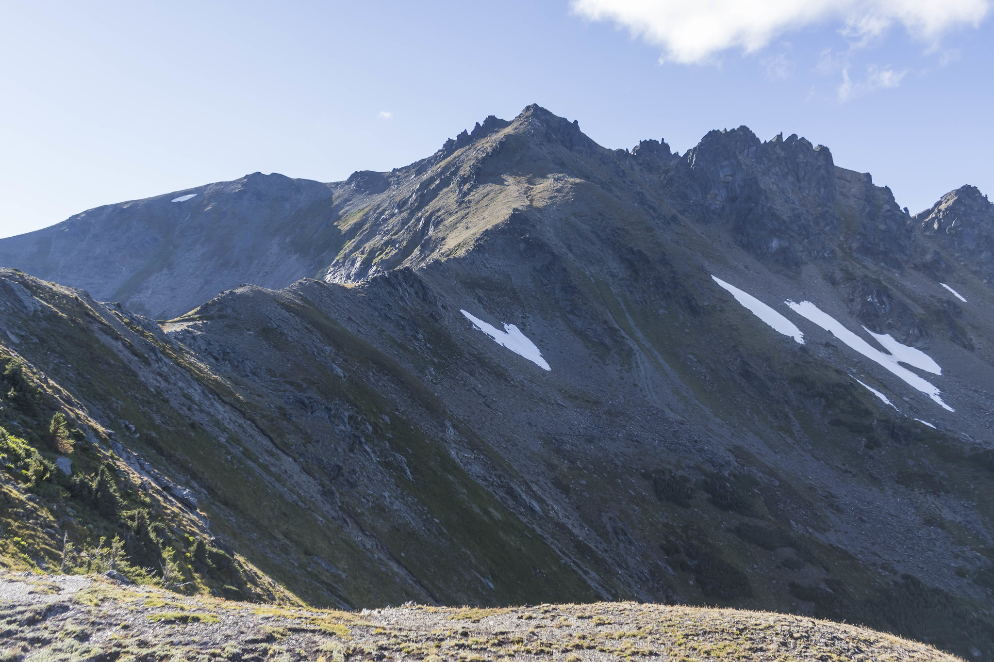Next stop, Ladies Peak