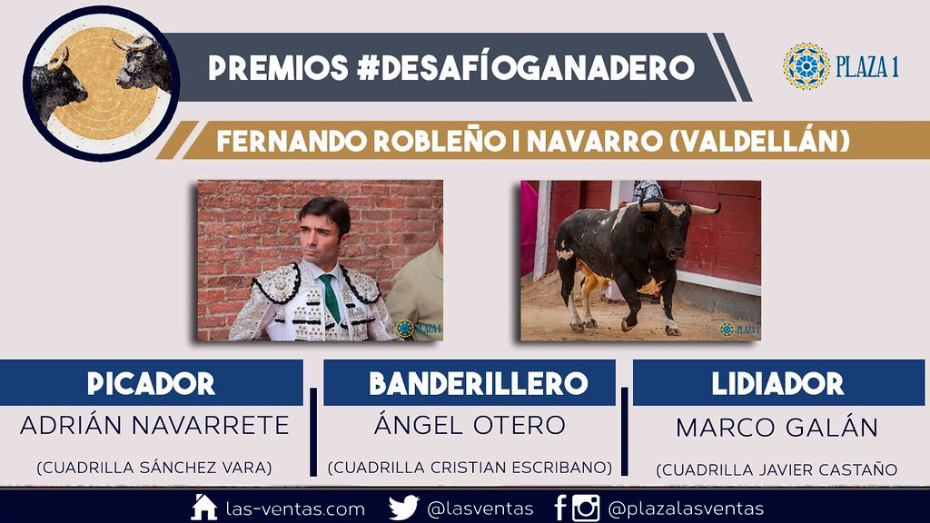 Navarro de Valdellán, se alza triunfador como mejor TORO de los Desafíos Ganaderos de Madrid