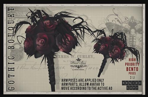 FREE Gift Gothic Bouquet Halloween