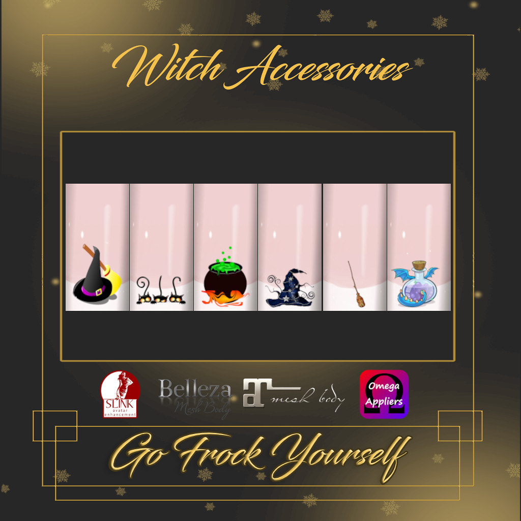 GFY-Witch Accessories Nail Appliers