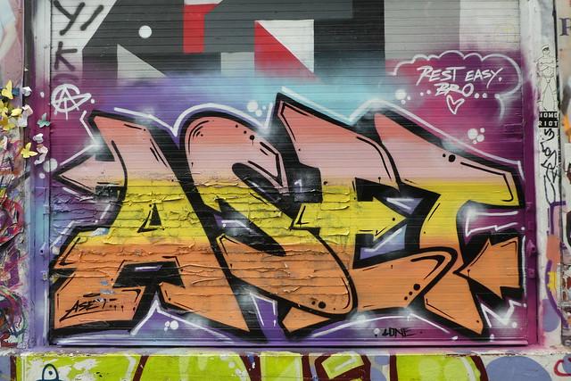 Aset graffiti, Shoreditch