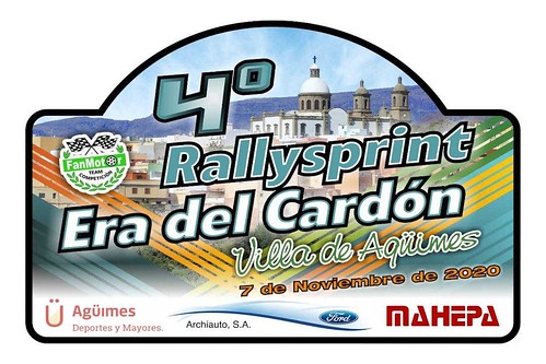 Cartel promocional del 4º RallySprint Era del Cardón