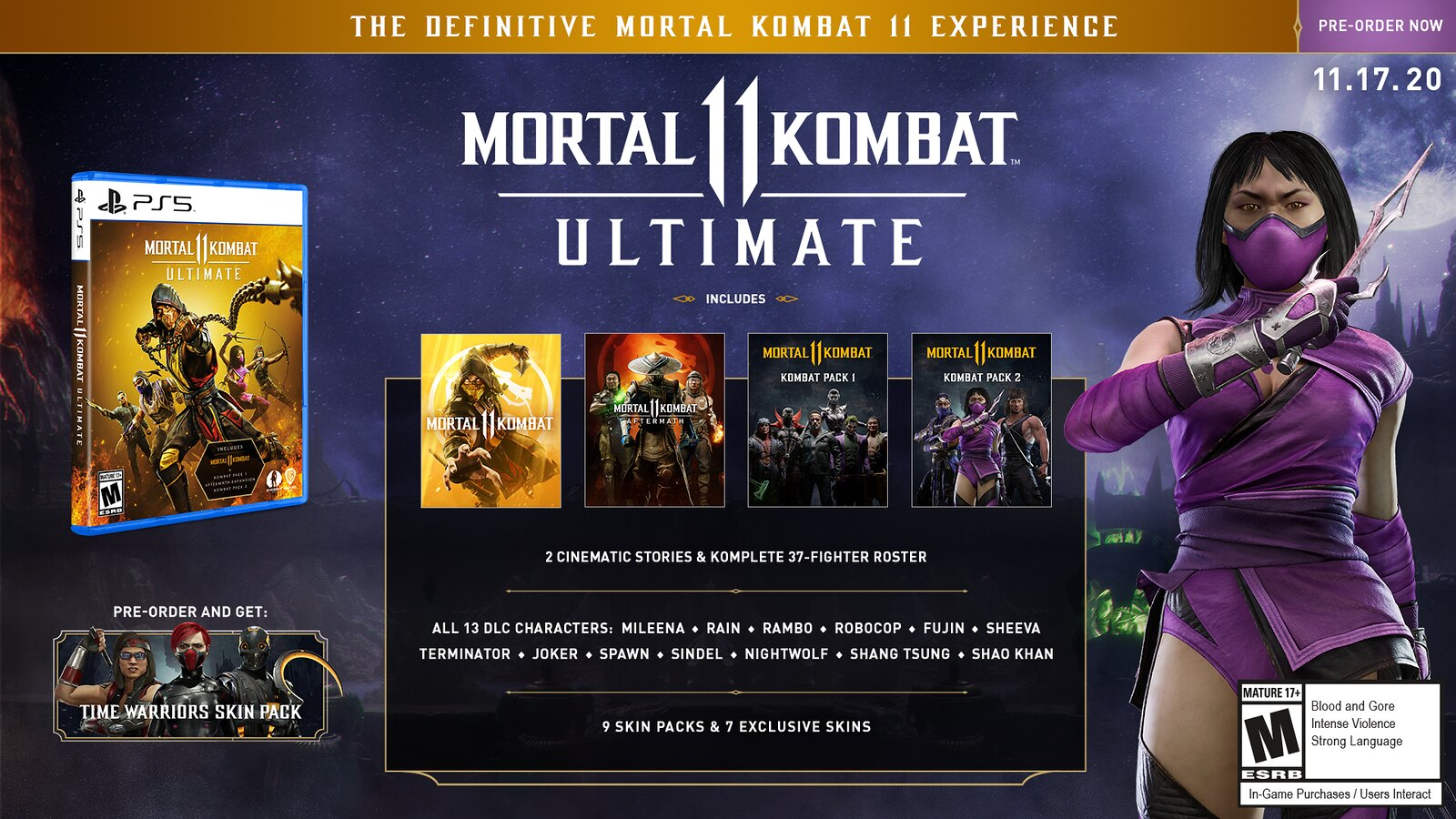Mortal Kombat 11: Ultimate