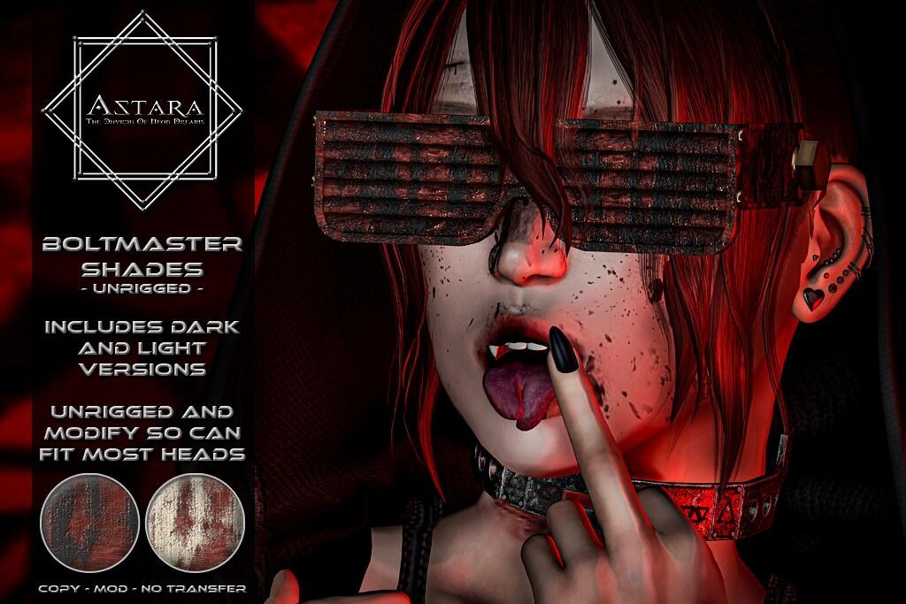 Astara – Boltmaster Shades Ad