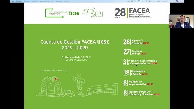 Aniversario FACEA UCSC 2020