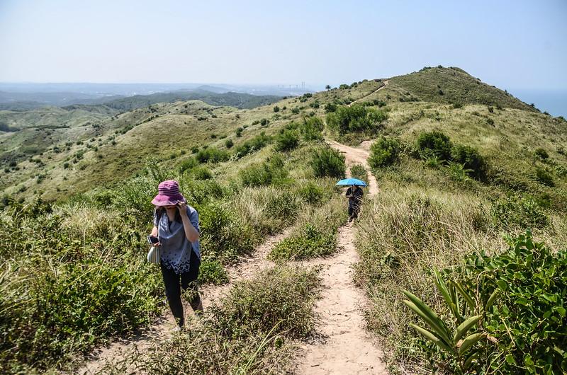塗崁頂山稜線步道