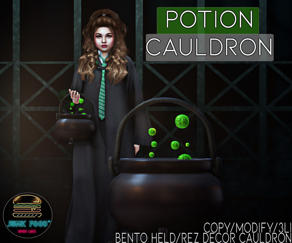 Junk Food – Potion Cauldron Ad