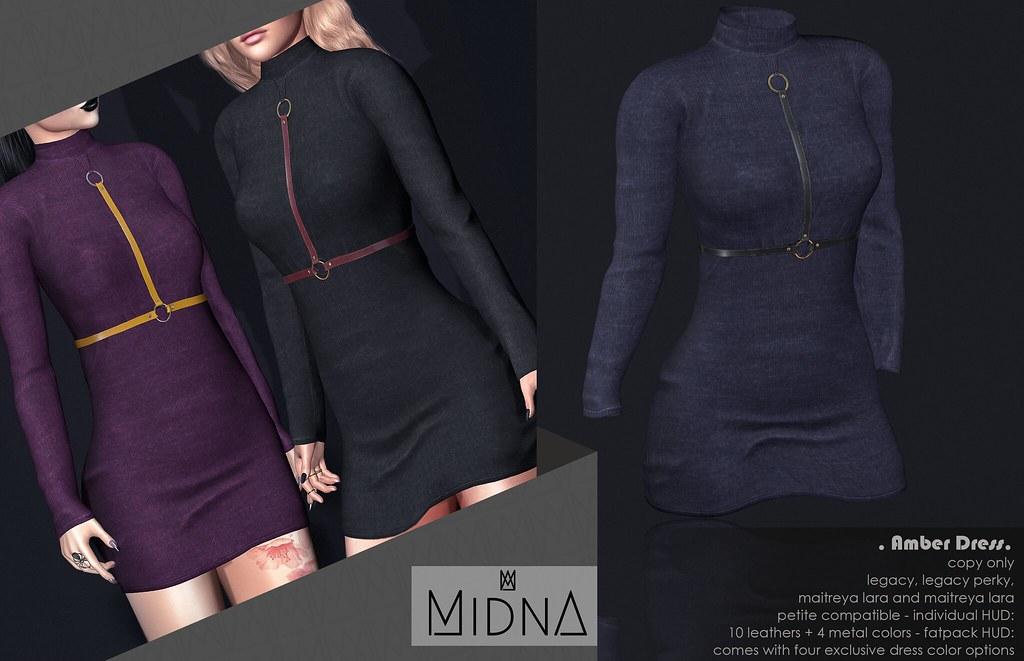 Midna - Amber Dress