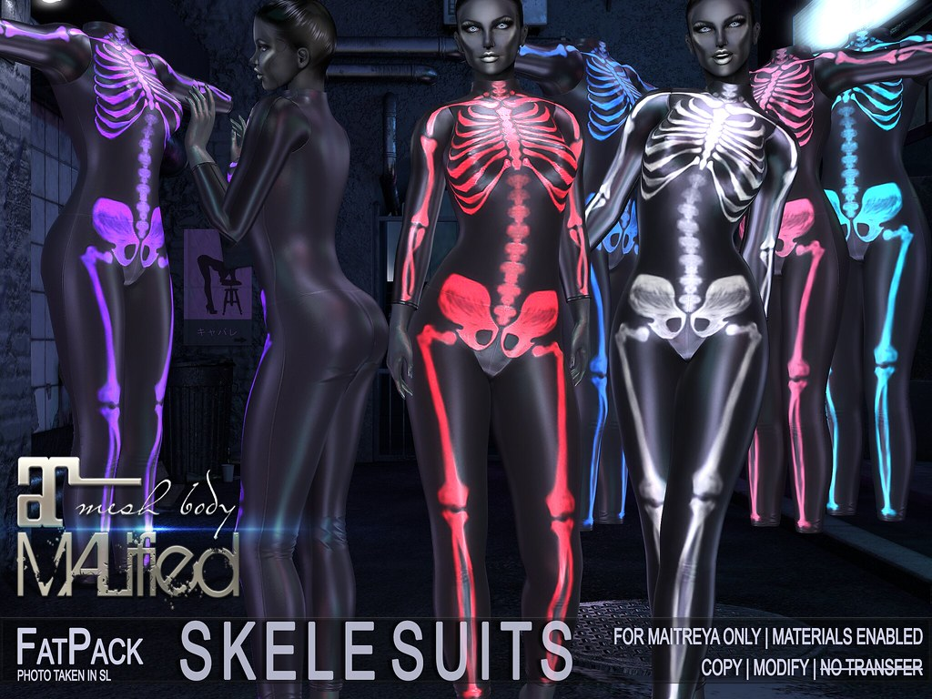MALified – SkeleSuits – FATPACK