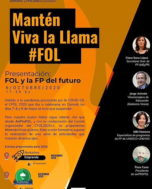 Jornada de FOL ManténVivaLaLlama de la FP vasca