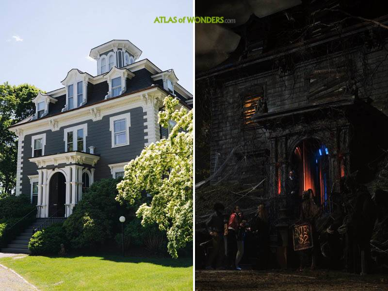 The haunted house in Hotel Marblehead