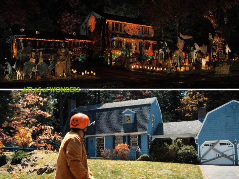 Hubie Halloween house