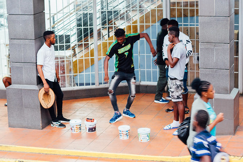 adamcohn jamaica mandevillejamaica dancer dancers dancing shoppingmall streetphotographer streetphotography