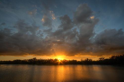 water sunset hdr landscape sun florida parrish floridasunset