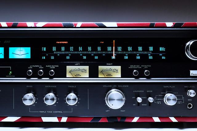 Sansui 890 Receiver Eddie van Halen Edition