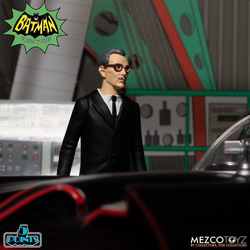 MEZCO 5 POINTS《蝙蝠俠(1966年經典電視劇版本)》豪華套裝組
