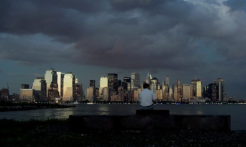 sunset jerseycity paulushook manhattan newyork skyline