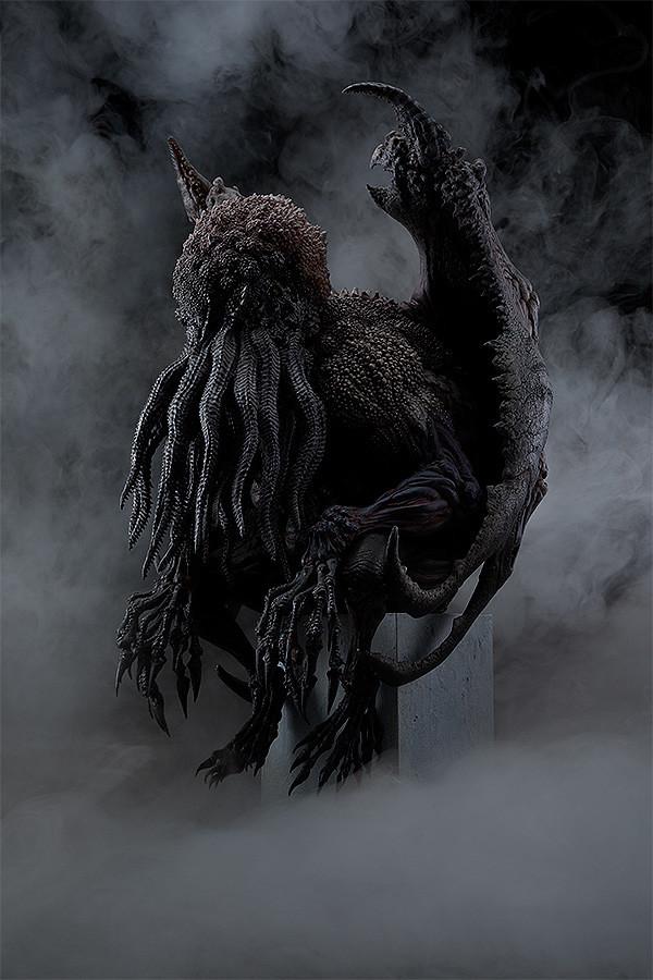 令人戰慄的細節!MAX FACTORY《Cthulhu Evolution》原創雕像系列第二彈「大山龍設計 克蘇魯」邪神雕像