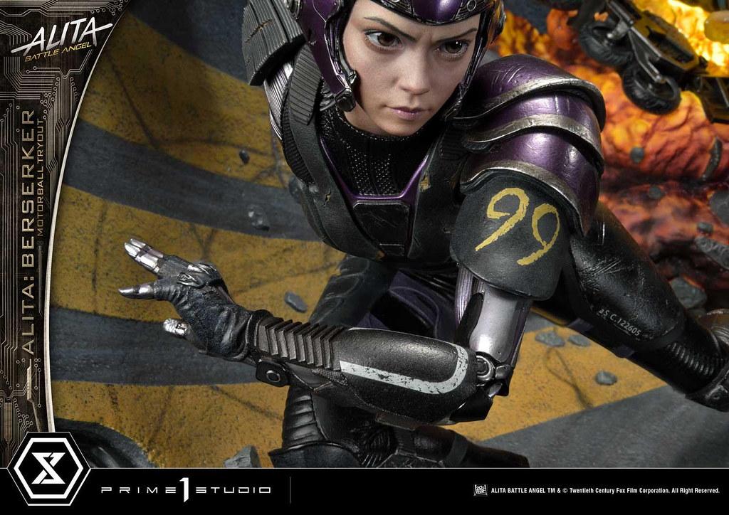 Prime 1 Studio《艾莉塔:戰鬥天使》艾莉塔 死亡球競賽 1/4比例場景雕像