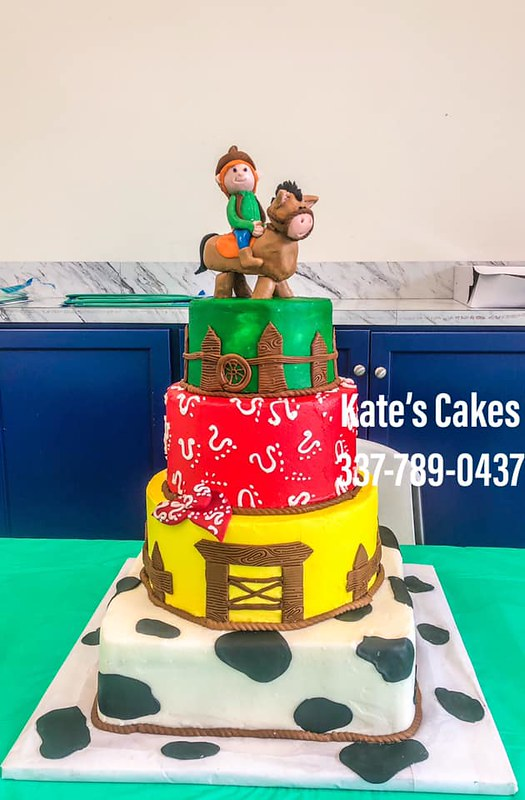 Cake by Kate's Cakes