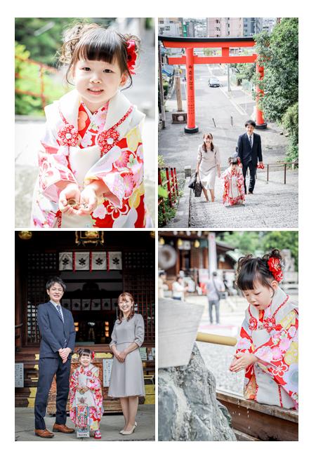 城山八幡宮で七五三 名古屋市で人気のお参り先