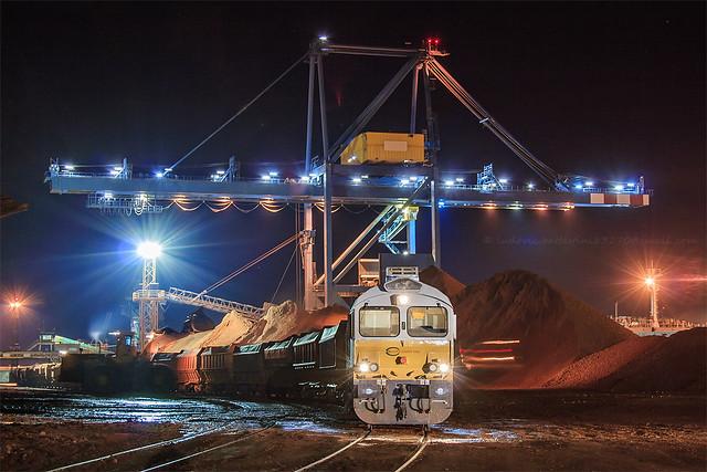 Fos-sur-Mer / Class 77012 au chargement