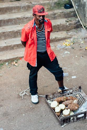 adamcohn jamaica mandevillejamaica man streetphotographer streetphotography yams