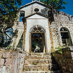 Front Steps of Duppy Church, Mile Gully Jamaica