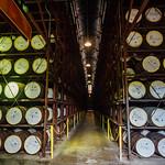 Aging Rum Barrels, Appleton Estate Jamaica