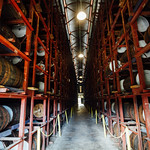 Racks of Rum Barrels, Appleton Estate