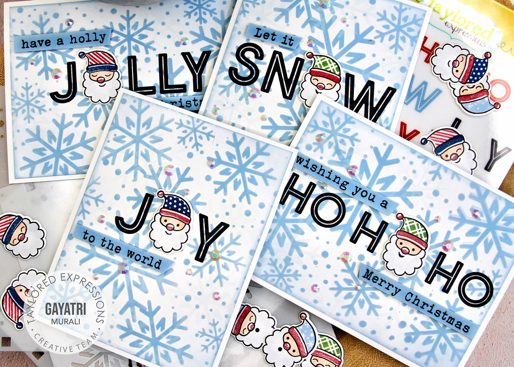 Christmas card set1