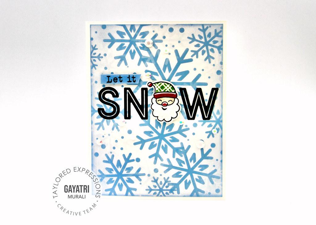 Christmas card #1 closeup2