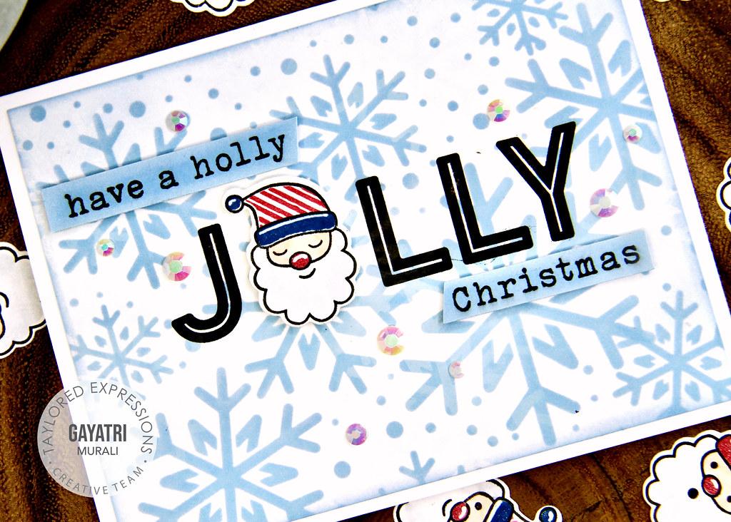 Christmas card #2 closeup
