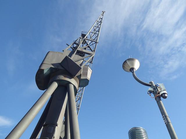 Dockside Crane, Millwall Docks, London