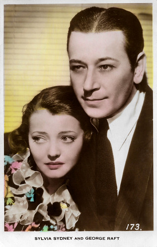 Sylvia Sidney and George Raft in You and Me (1938)