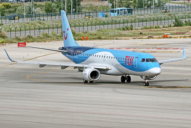 OO-TEA ERJ190STD ERJ190-100 TUI   Barcelona-El Prat 05-05-17