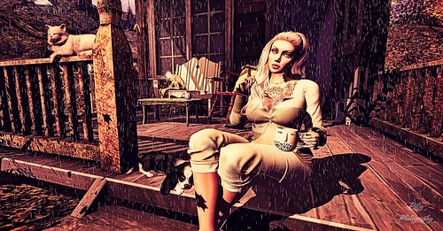 """""""What's a rainy day without some delicious coffee-flavoured loneliness?"""""""