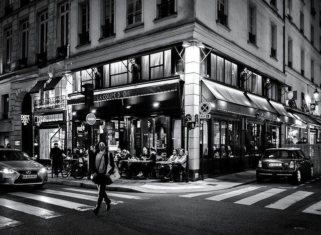 Paris, rue Saint Honoré