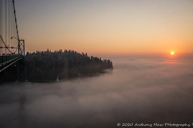 IMG_1276 Stanley Park Foggy Sunset