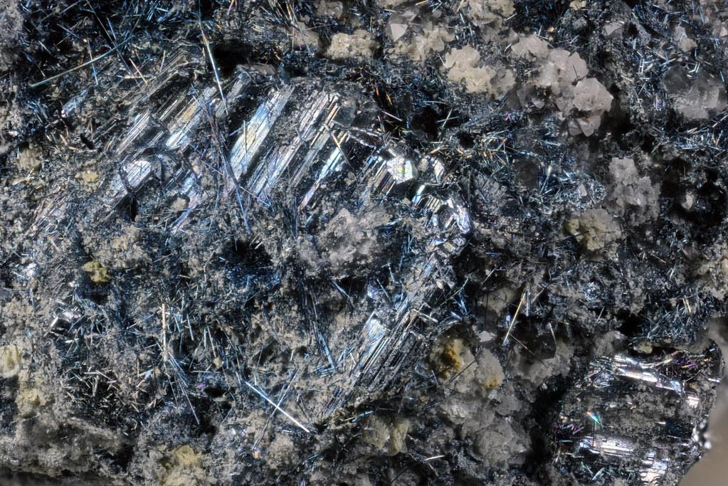 車骨鉱 / Bournonite