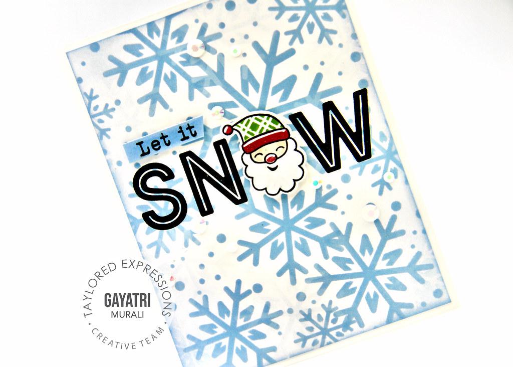 Christmas card #1 closeup3