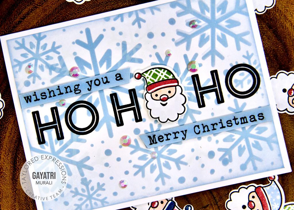 Christmas card #3 closeup