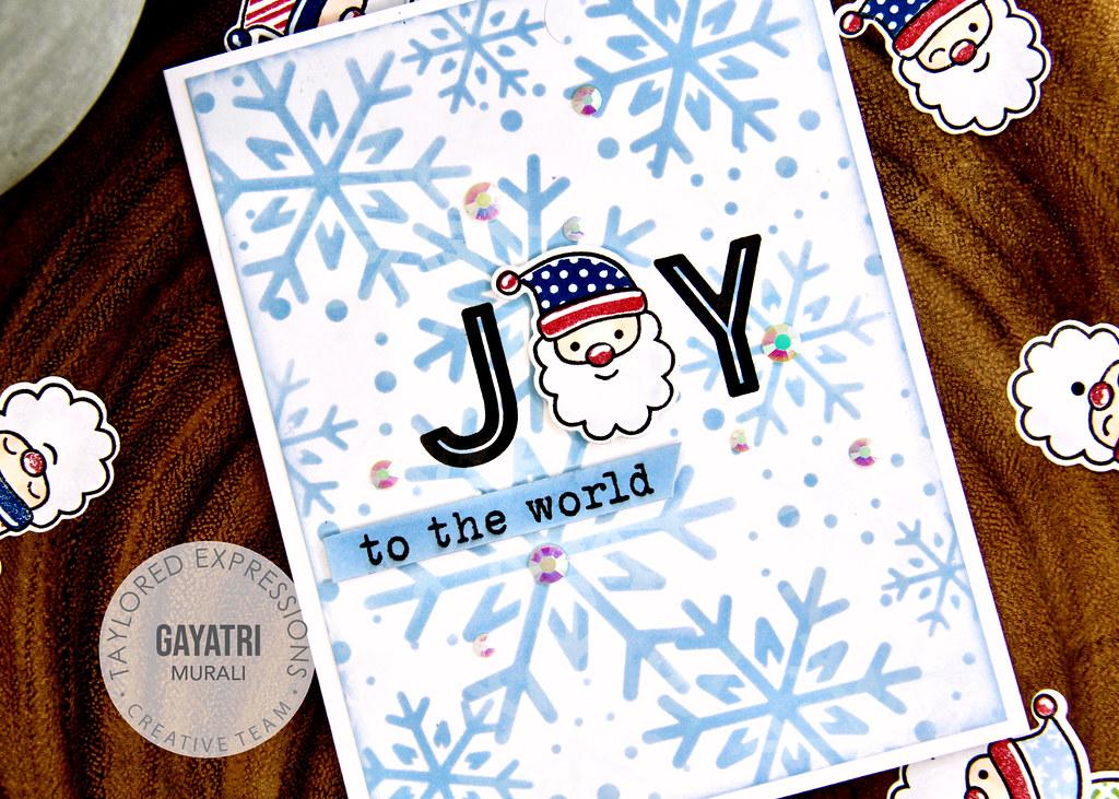 Christmas card #4 closeup
