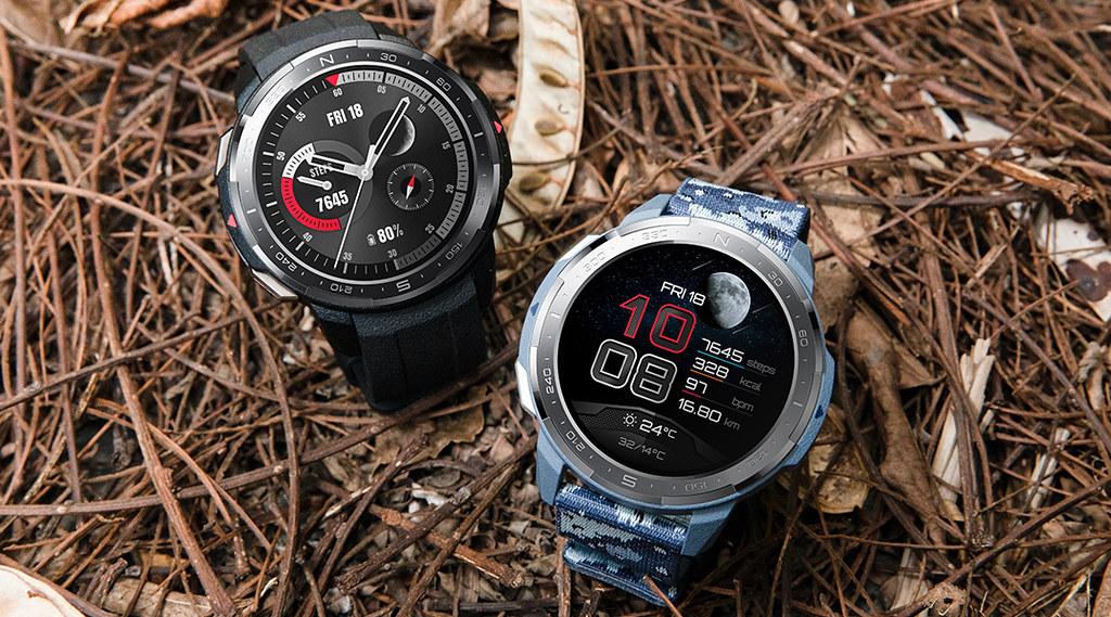 Hodinky HONOR Watch GS Pro černé