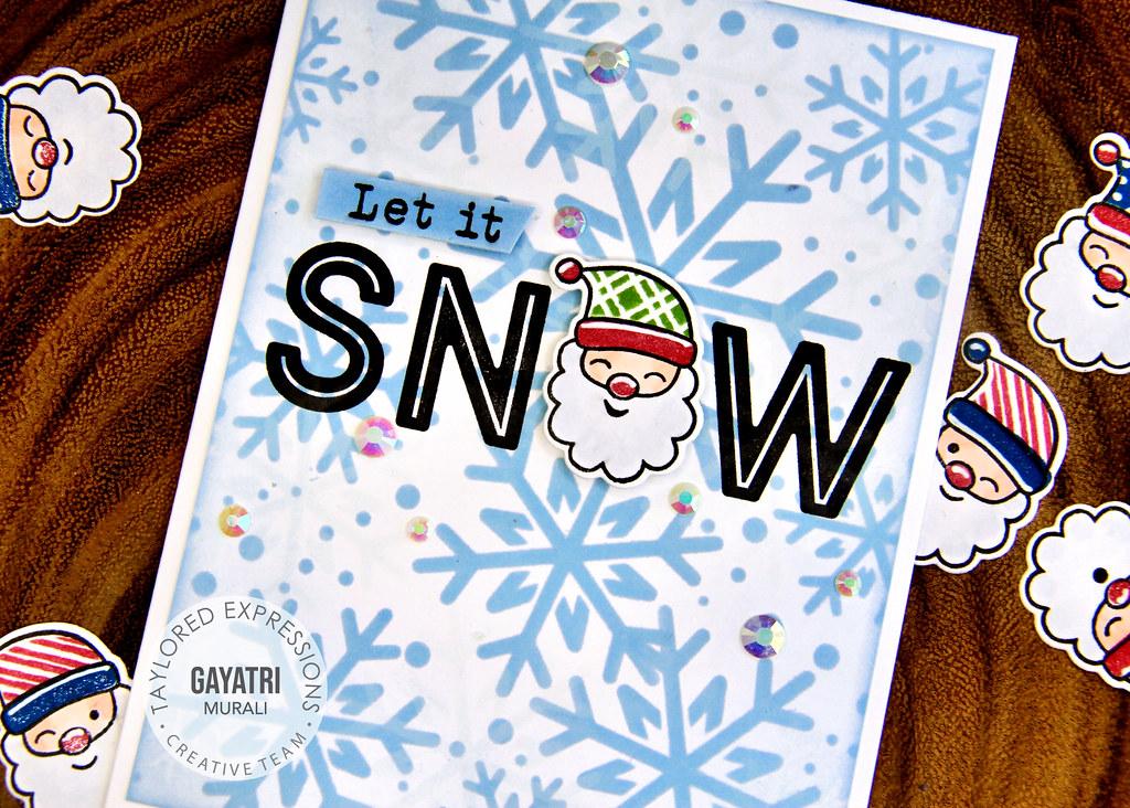 Christmas card #1 closeup1