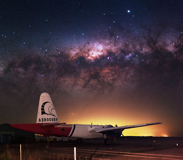 Milky Way at Cunderdin Airport, Western Australia