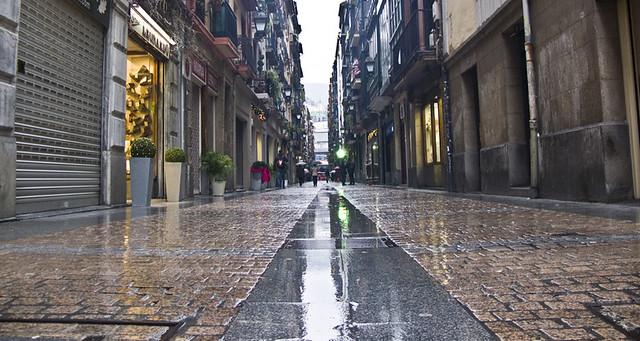 Calle Peatonal en Bilbao