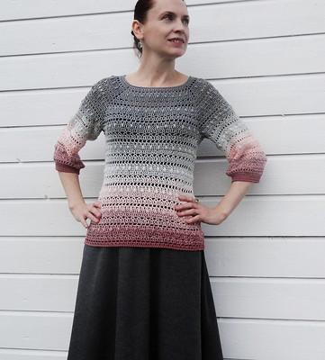 Twister, Light Elegance (21), crochet jumper